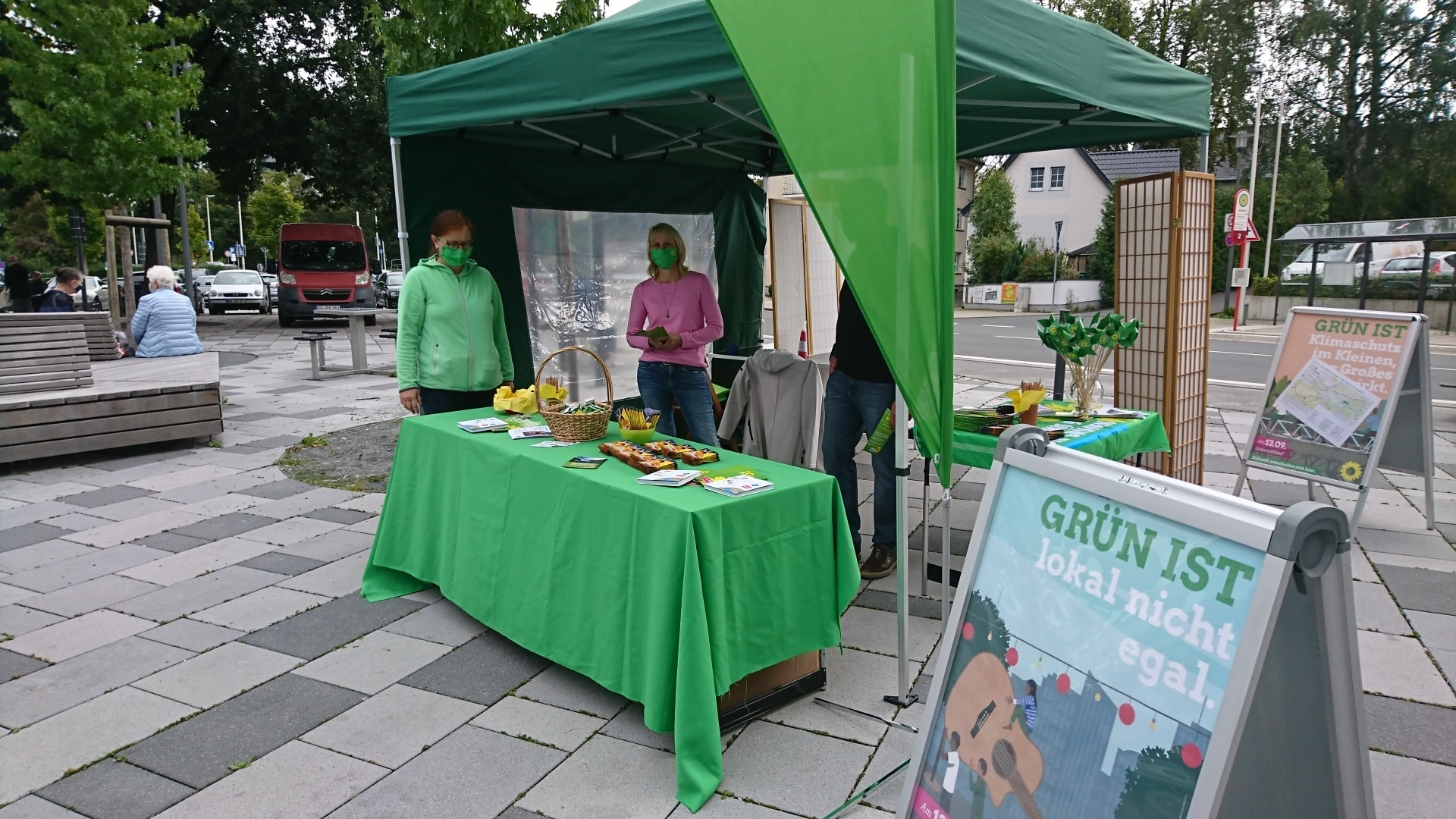 Wahlstand Nr. 2
