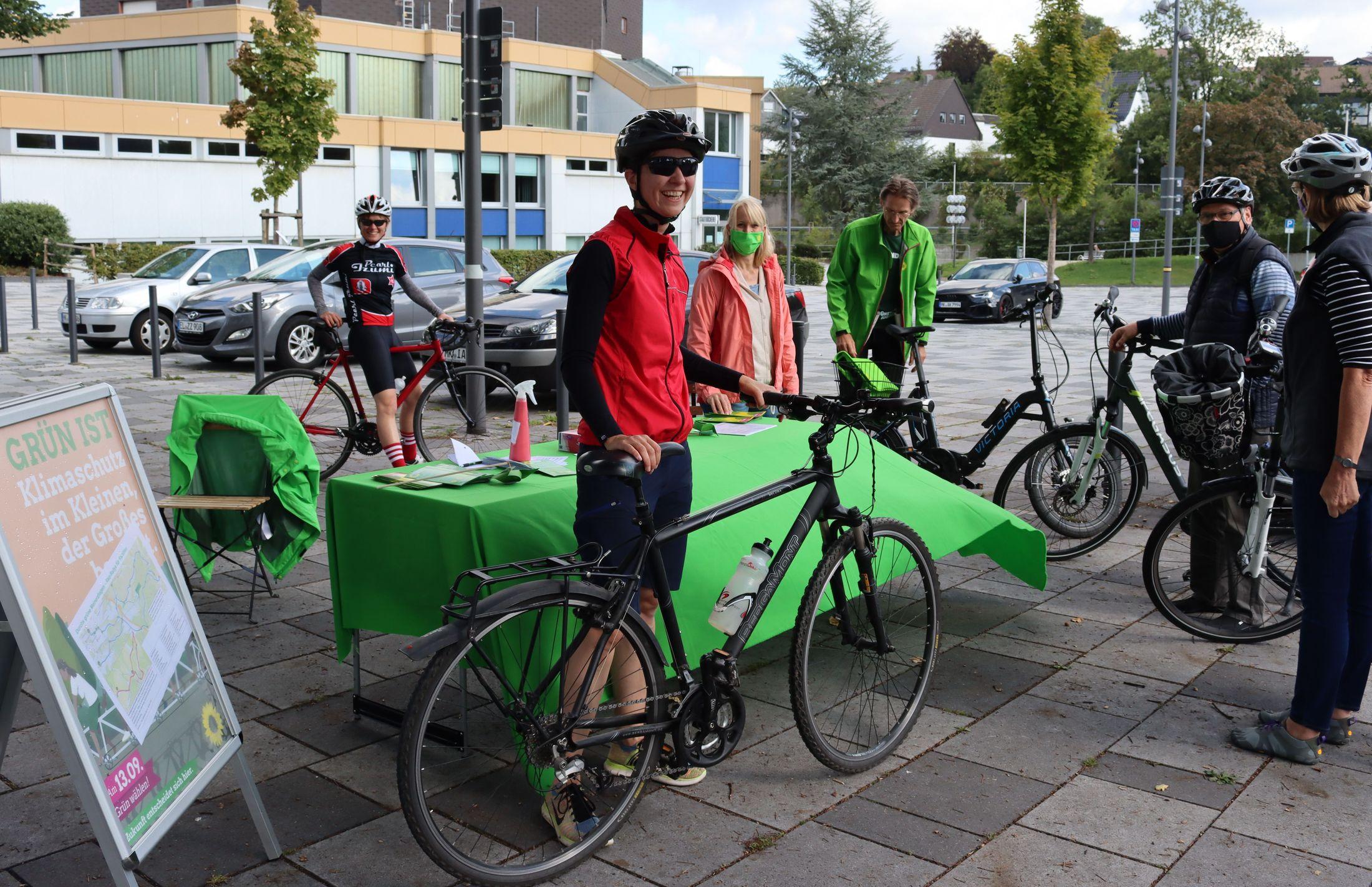 Rad-Rallye war Werbung fürs grüne Meinerzhagen